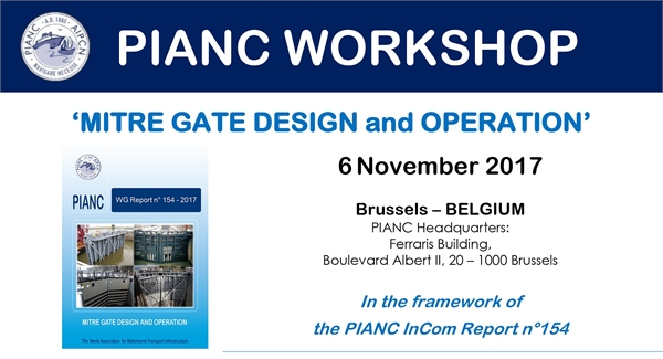 "PIANC Workshop ""Mitre Gate Design and Operation"""